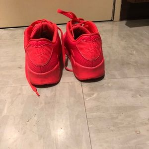 Nike Air Max 90 hyperfuse solar red size 7.5